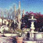 """Fountain on the Plaza"" by JoanneNetland"