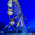 """Ferris Wheel at Twilight"" by philjern"