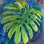 """""""Large Elephant Leaf"""" by elayne"""