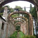"""Santa Margherita Ligure arches in summer of 2005"" by MomentsSun"
