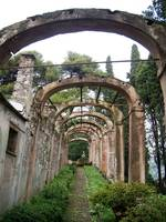 Santa Margherita Ligure arches in summer of 2005