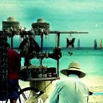 """beach vendors"" by dreamerofpics"