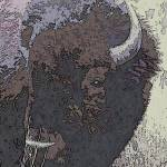 """""""Abstract bull"""" by thorsen"""