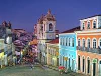Pelourinho at Dusk