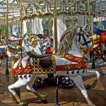 """San Francisco Carousel at Yerba Buena Gardens"" by kphotos"