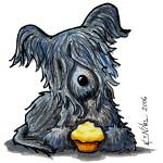 """Skye Terrier"" by KiniArt"