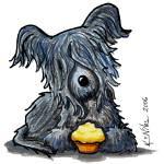 """""""Skye Terrier"""" by KiniArt"""