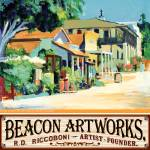 """Beacon Artworks Gallery Calhoun Street Poster"" by BeaconArtWorksCorporation"