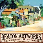 """Beacon Artworks Gallery Calhoun Street Poster"" by BeaconArtWorksCorporation"