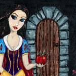 """Snow White Considers the Apple"" by Bronwen"
