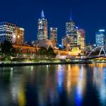 """Melbourne CBD"" by linask"
