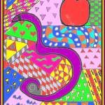 """Apple & the serpent6"" by missnancysart4u"