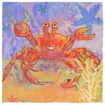 """Happy the Crab"" by Cardona"