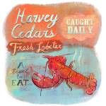 """Long Beach Island-  Harvey Cedars Lobster"" by Cardona"