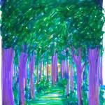 """Shadow Forest"" by ADrawingADay"