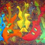 """FIVE GUITARS"" by inowicki"
