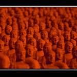 """Buddha in The Crowd"" by dianeward"