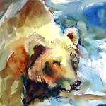 """BEAR FISHING"" by KATEBARBER"