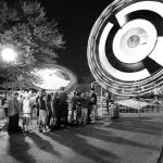 """Carnival Queue Monochrome 6.16.2007"" by notleyhawkins"