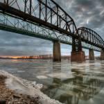 """Missouri River 2.10.2007"" by notleyhawkins"