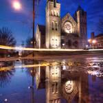 """Scacred Heart Church 1.10.2008"" by notleyhawkins"