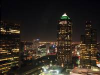 Dallas nite view
