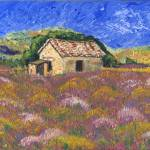 """Derelict Cottage - Provence,France"" by PatWalden"