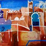 """Marrakech - abstract"" by yvonneayoub"