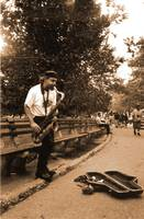 Sax in Central Park NY