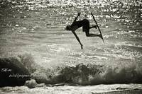 Unknown Pro Skimboarder - Aliso Beach