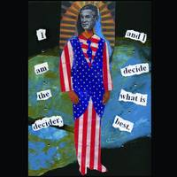 Bush Collage: Mary,Uncle Sam and Bush merge