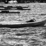 """""""Red Boat in Black & White"""" by X-posed"""
