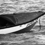 """""""Blue Boat in Black & White"""" by X-posed"""