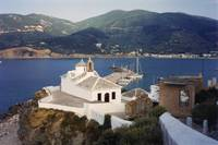Church on the Hill, Skopelos, Greece