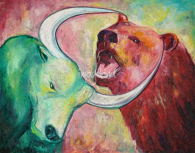 Stunning Bulls And Bears Artwork For Sale On Fine Art Prints