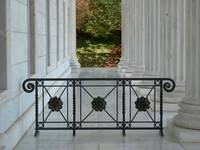 Gate on the portico