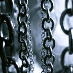 """Chains Black & White"" by VanessaKennedy"
