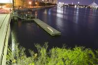 Night at the Charles River