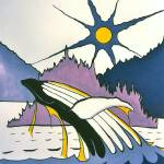 """Whale-Charlotte Islands"" by firstnationsartstore"
