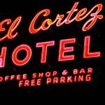 """EL CORTEZ RED LETTERS"" by podolux"