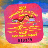LBI Beach Badge,