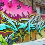 """Graffiti on Queen St. W"" by aceofdymondz"