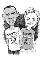 Obama & Clinton: No, I'M with the Vice President