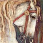 """Carousel Horse"" by francesbyrne"