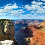 """Grand Canyon 4-shot Pano"" by camlin"