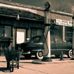 """Route 66 Gas Station"" by camlin"