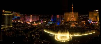 Vegas At night Panorama