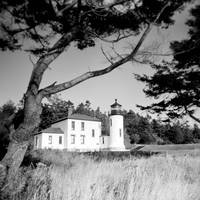 Admiralty Head Lighthouse with a Holga