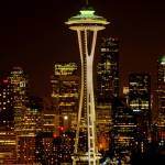 """Space Needle"" by kjellarsen"