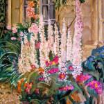 """""""Delphinium Garden"""" by kyaudeart"""